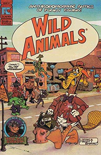 Wild Animals #1 VF/NM ; Pacific comic book