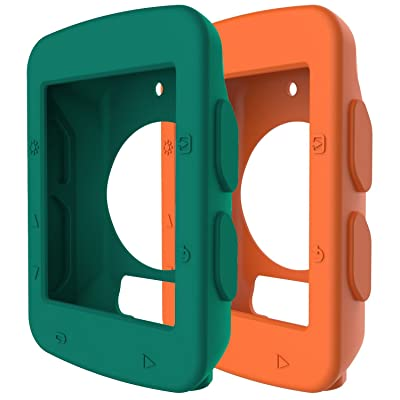 Ruentech Ordenador de bicicleta para GPS Garmin Edge 520caso, suave protector caso de silicona de repuesto para Garmin Edge 520, color 2S