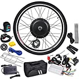 AW 26'x1.75' Front Wheel 48V 1000W 470RPM Electric Bicycle Hub Motor Speed Control Conversion Kit PAS System