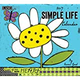 Lang 2017 Simple Life Wall Calendar, 13.375x24-Inch