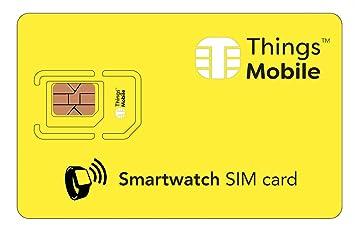 Tarjeta SIM para smartwatch / reloj inteligente: Amazon.es ...