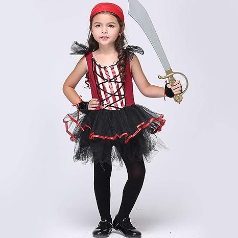 ROCK1ON Disfraz de Capitán Pirata para Niños, Disfraces de ...