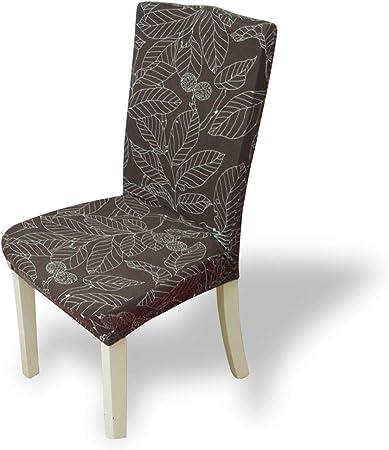 Fashion·LIFE Fundas para sillas Pack de 6 Fundas sillas Comedor ...