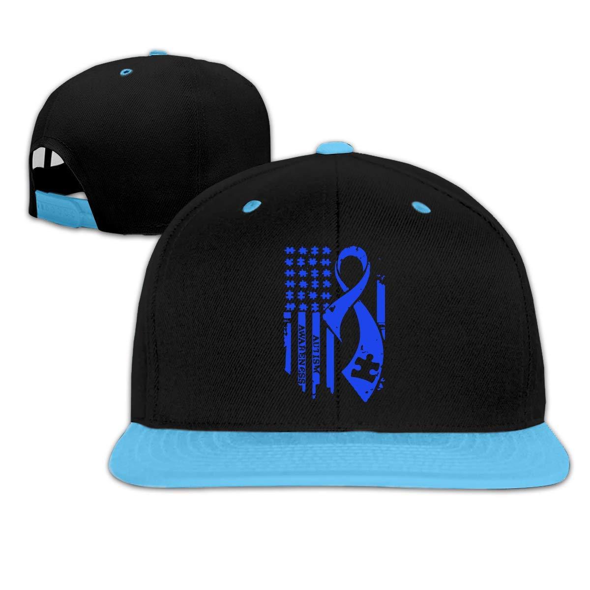 HERSTER Toddler Boys/&Girls Autism Awareness American Flag10 Baseball Cap Hats Trucker Hip Hop Cap