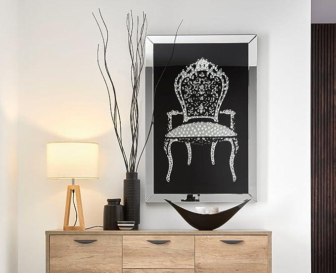 DUGARHOME - Cuadros Decorativos - Cuadro Espejo CHAIR (120x80): Amazon.es: Hogar