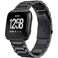 Stainless Steel Band for Fitbit Versa/Versa 2/Versa lite Strap Wrist Bracelet Watch Band Belt for Fitbit Watch Accessories
