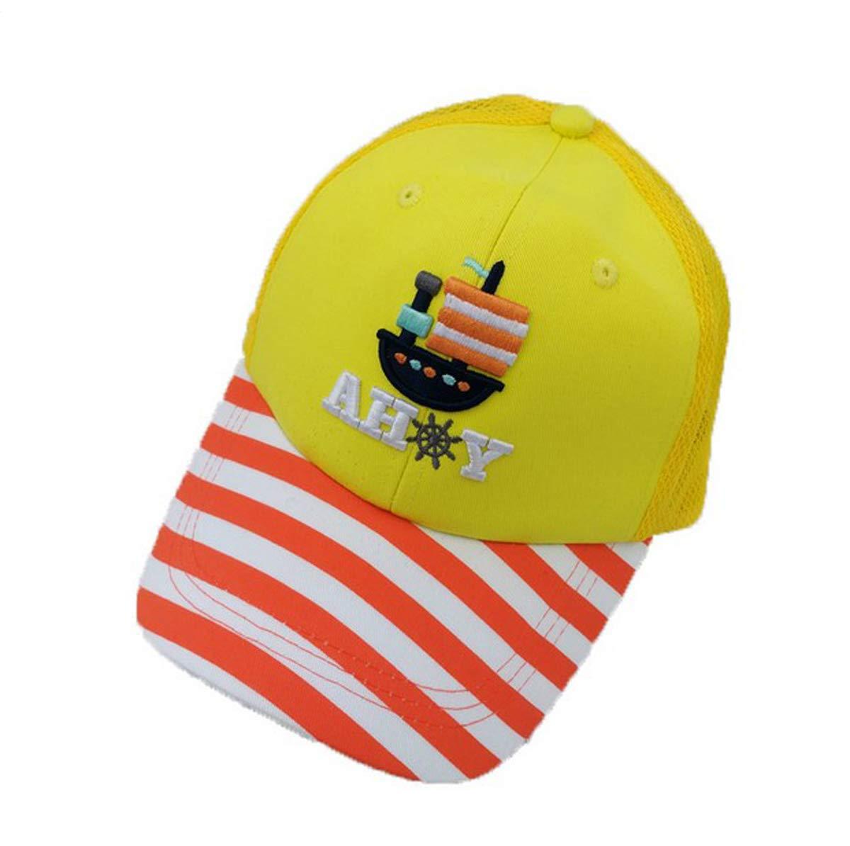 Ss - Gorra de béisbol para niños, diseño de Rayas de algodón ...