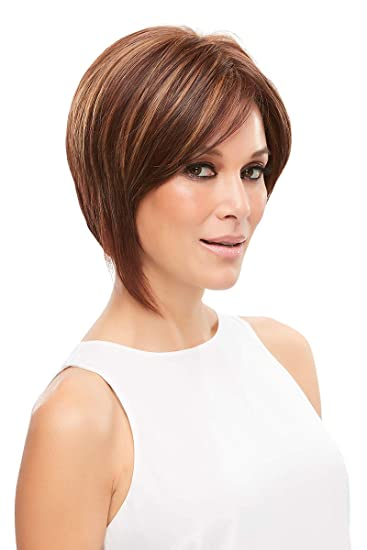 Eve Wig Lace Front Color 27T613 Marshmallow - Jon Renau Wigs Women s Heat  Friendly Synthetic Asymmetrical 356a0e7c12