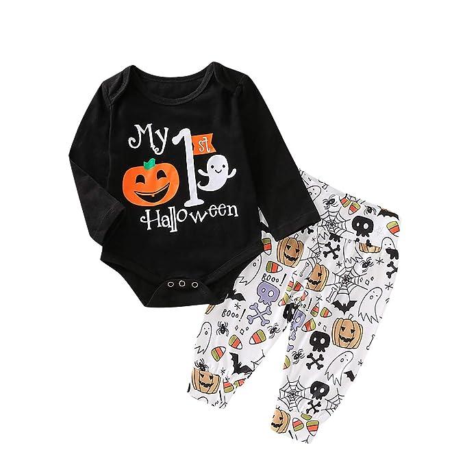 Amazon.com: Bebé recién nacido niños mi primer Halloween ...