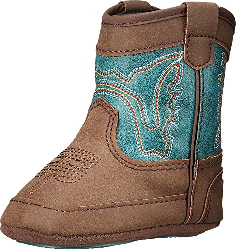Double Barrel Infant-Boys' Bucker Open Range Boot Brown 3 US