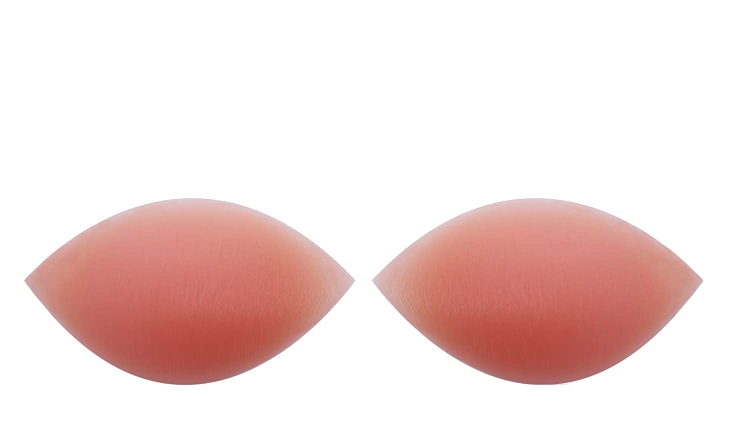 180g/pair - SODACODA Crescent Silicone Inserts Chicken Fillets Breast Enhancers For Bras, Swimsuits and Bikini – Create maximum cleavage - suitable for A, B, C and D Cups C and D Cups (180g/pair Clear) GER-180g