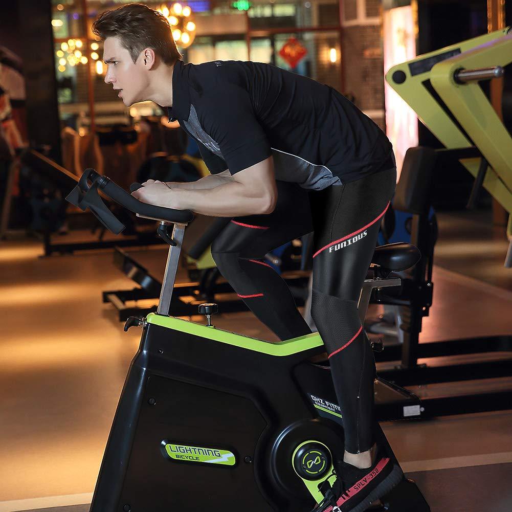 3D Gel Imbottito Traspirante Compression Mutande MTB Pantaloni da Bike Biciclette Bici MEETWEE Ciclismo Lunghi Pantaloni Uomo