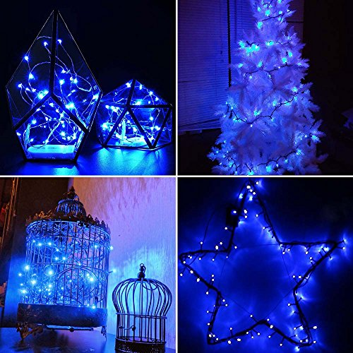 qedertek 200 led solar christmas lights 72ft fairy string import it all. Black Bedroom Furniture Sets. Home Design Ideas