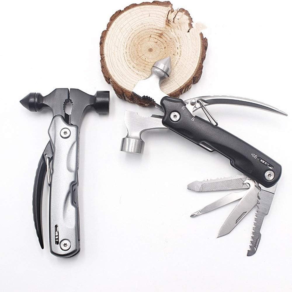 Style : Multi-Function Hammer KODH Rettungshammer Auto-Nothammer Mehrzweck-Camping-Werkzeughammer Auto-Sicherheitshammer Glasbruchhammer