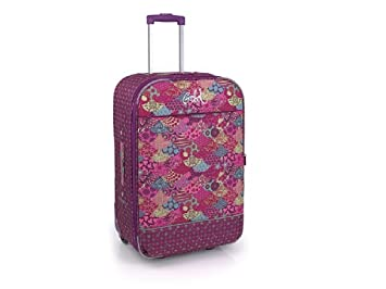 Gabol 2176502 - Maleta Trolley Gabol Estampado Flores Pop, 39 x 55 cm: Amazon.es: Equipaje