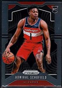 Basketball NBA 2019-20 Panini Prizm #280 Admiral Schofield RC Wizards
