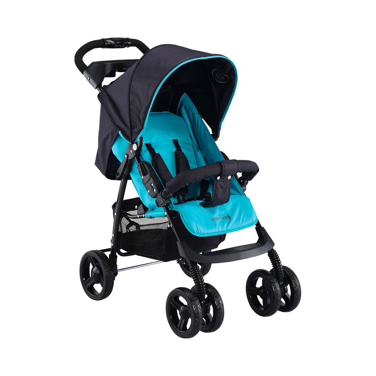 knorr-baby 886540 SportwagenV-Easy-Fold Happy Colour, blau