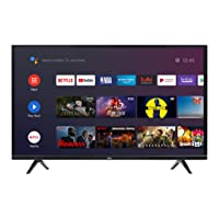 TCL 55 inches Smart Android 4K Ultra HD TV with Built-in Receiver - 55P615