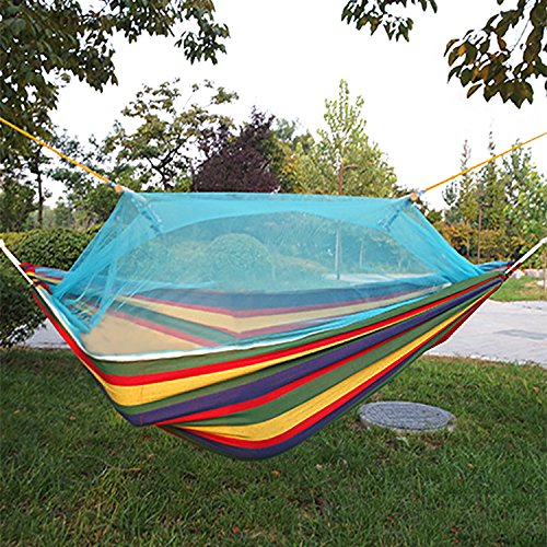 Price comparison product image Home Cal Double Camping Hammocks with Mosquito Net for Outdoor Travel Camping Hiking Backpacking Backyard