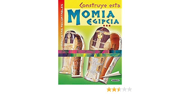 Momia Egipcia (Maquetas Recortables): Amazon.es: Equipo ...