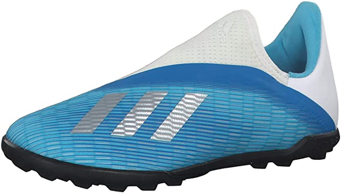 adidas X 19.3 Laceless Childrens FG Football Boots Boys Firm Ground Lightweight