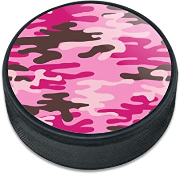Lot of 4 PINK PRACTICE ICE PUCK 6oz *NEW*