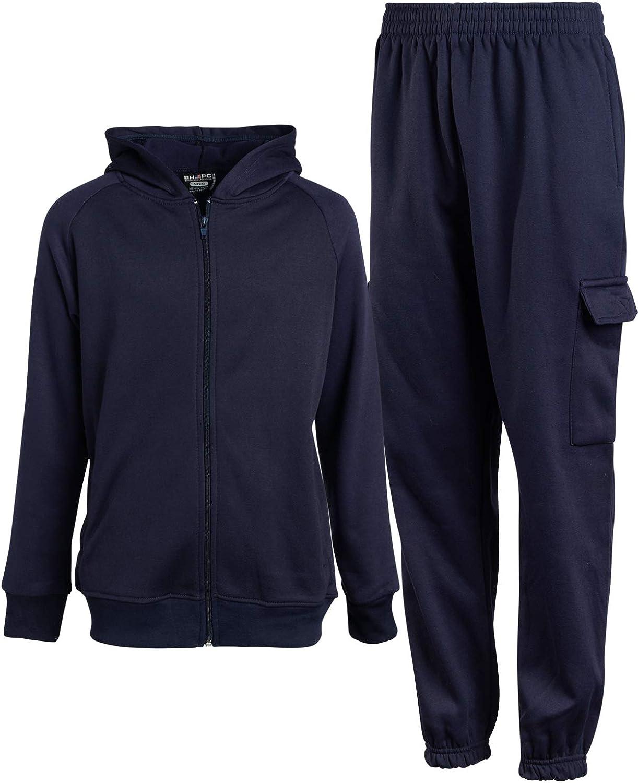 Beverly Hills Polo Club Boys 2-Piece Fleece Uniform Active Jogger Set