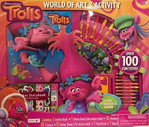 Trolls World of Art and Activity