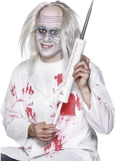 CERCHIETTO CON SIRINGA Carnevale Halloween Dottore Infermoera Accessorio 03311