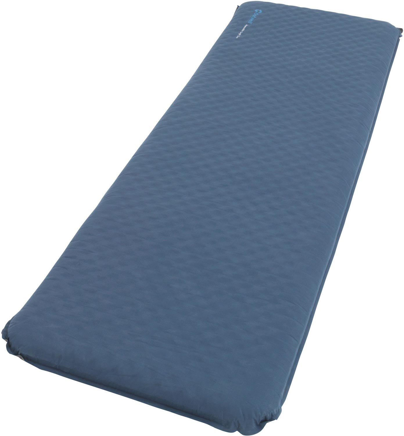 One Size//7.5 cm Outwell   Unisex Outdoor Self Inflate Mat available in Blue
