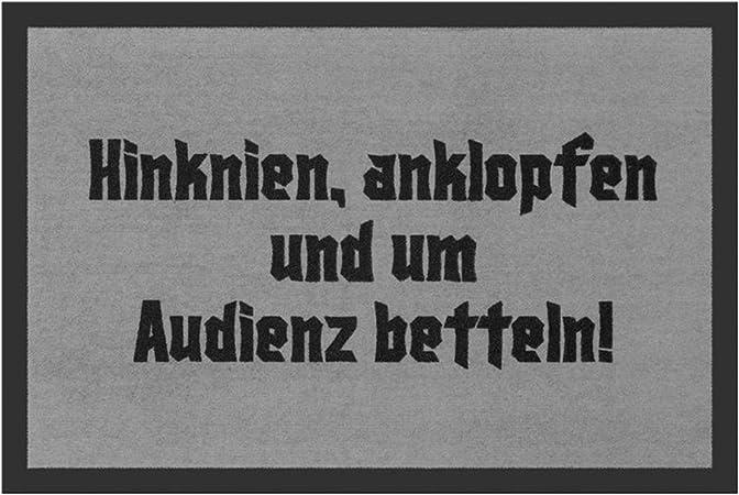 You are here Fußabtreter lustig Türvorleger mit Spruch Schmutzmatte Fußmatte