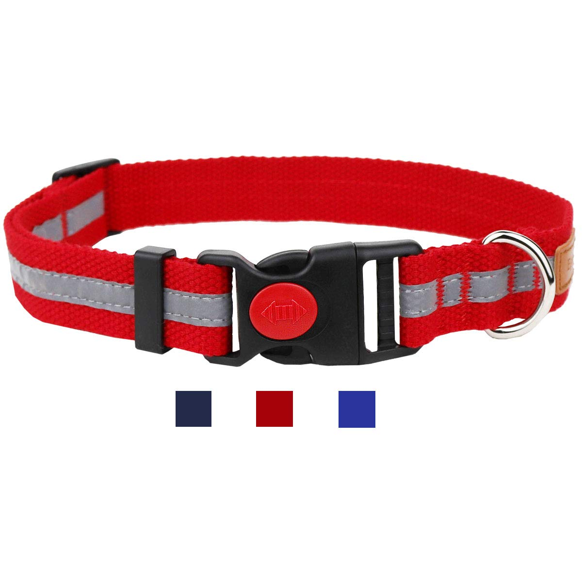 Egoola Night Reflective Dog Collar
