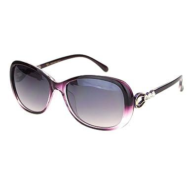 Amazon.com: Gafas de sol para mujer, diseño de caballo con ...
