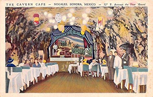 The Cavern Café Sonora Mexico Postcard Tarjeta Postal at ...