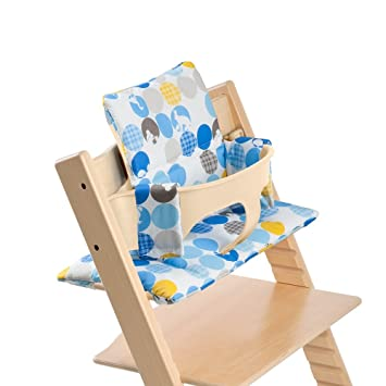 Coussin Pour La Chaise Haute Stokke Tripp Trapp Cushion Bleu Tartan