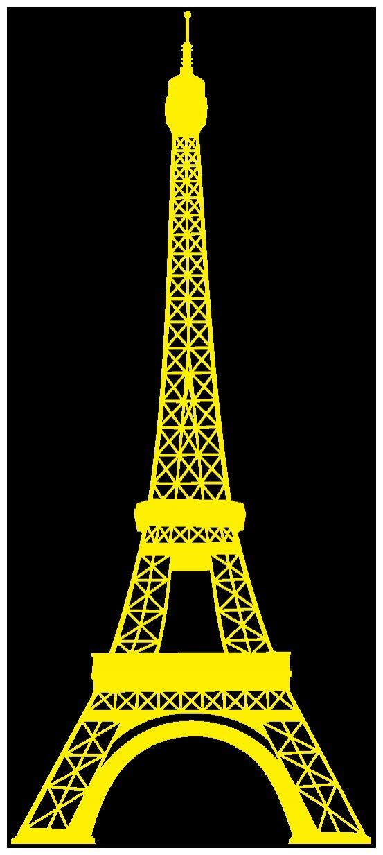 Samunshi® Wandtattoo Eiffelturm Paris Wandaufkleber in 13 Größen und 25 25 25 Farben (69x160cm Enzian) B0133E6NQ4 Wandtattoos & Wandbilder 1b8597