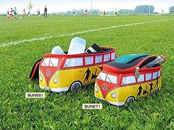 Volkswagen T1 Bulli Bus 3D Universal-Schmink-Kosmetik-Kultur-Reise-Hausrats-Tasche-M/äppchen-Beutel Neopren//Ambulance BRISA VW Collection