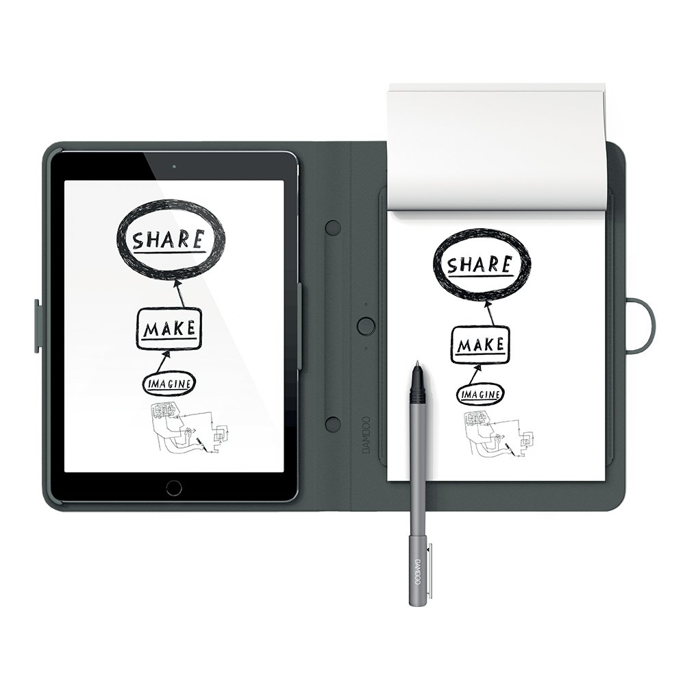 Wacom Bamboo Spark with Snap-Fit for iPad Air 2 (CDS600C)