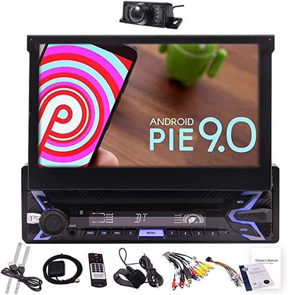 Android 9 0 7 Flip Out Kapazitiver Touchscreen Einzel Elektronik