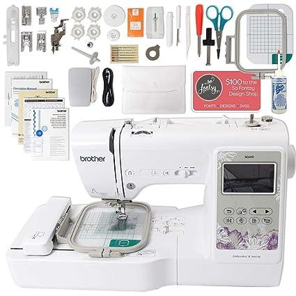 Amazon.com: Brother SE600 - Máquina de coser y bordar con ...