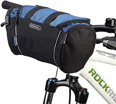 Lixada Bolsa para Manillar de Bicicleta MTB Tubo Frontal Bolsa de ...
