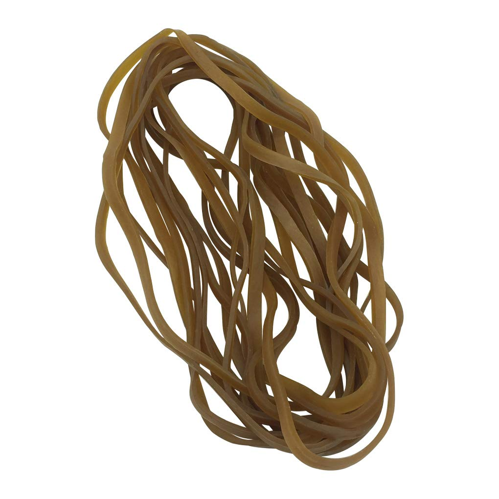 """80 Pieces 8"""" Large Rubber Bands - HYHP Large Elastic Bands Trash Can Bands for Trash Can, Office Supply, Household Using"""