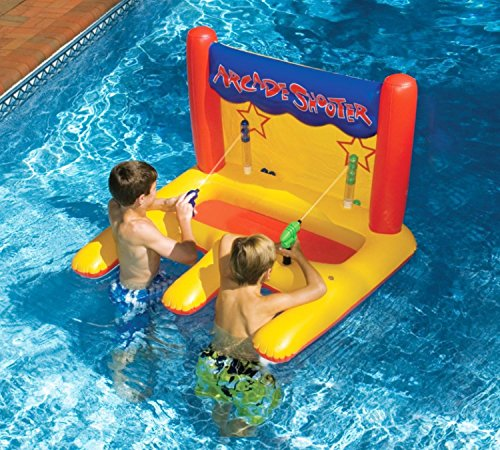 Inflatable Arcade Shooter Target Swimming Pool Game