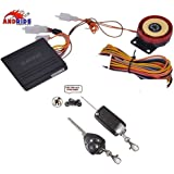 Andride Motorcycle/Bike Alarm Security System Button Remote Key Anti-Theft Alarm Universal