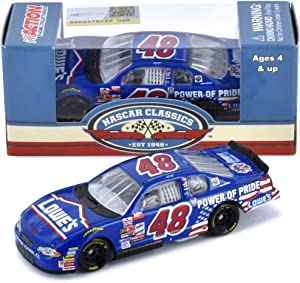 Lionel Racing Jimmie Johnson 2001 Lowe's Power of Pride 1st Career Start NASCAR Diecast Car 1:64 Scale