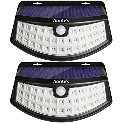 sports shoes 5adbd 6adc1 Aootek Solar Lights Outdoor 36 Led, 3 Optional Modes ...