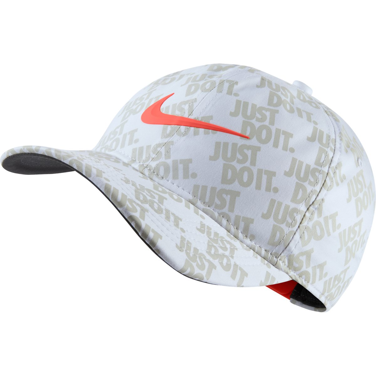 Amazon.com  NIKE Golf Classic 99 Limited Edition U.S. Open Golf Snapback  Hat Just Do It (White Rush Coral)  Sports   Outdoors 2e560d79fef