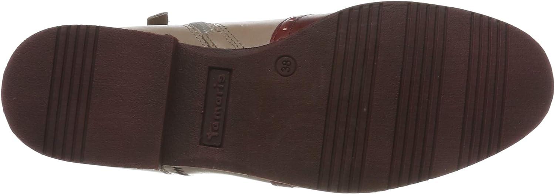 Tamaris Damen 1-1-25027-23 Chelsea Boots Beige Shell Comb 424