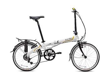 Dahon Vybe C7A - Bicicleta plegable de 20 pulgadas, color blanco