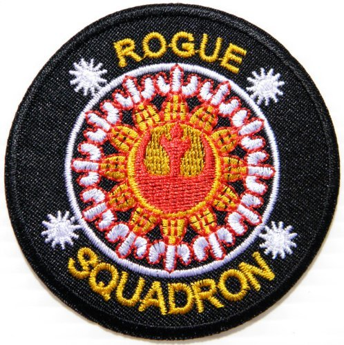 Star Wars Rogue Squadron Rebel Alliance Crest Comics Cartoon Logo Kid Baby Jacket T Shirt Patch Sew Iron on Embroidered Symbol Badge Cloth Sign Costume By Prinya Shop - Rogue Cartoon Costume